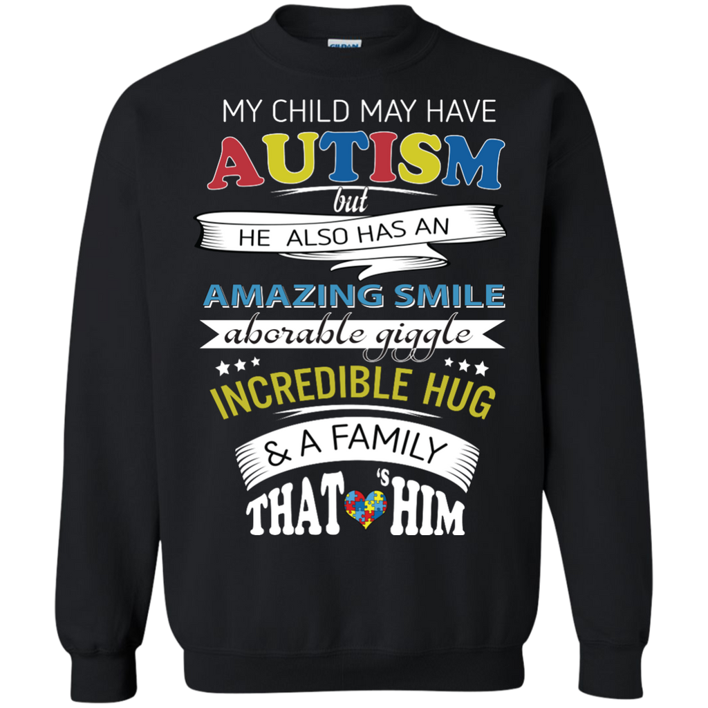 My-Child-My-Have-Autism-But-he-Also-Has-An-Amazing-Smile-LS-shirt,Sweatshirt,Hoodie-LS-Ultra-Cotton-Tshirt-Black-S
