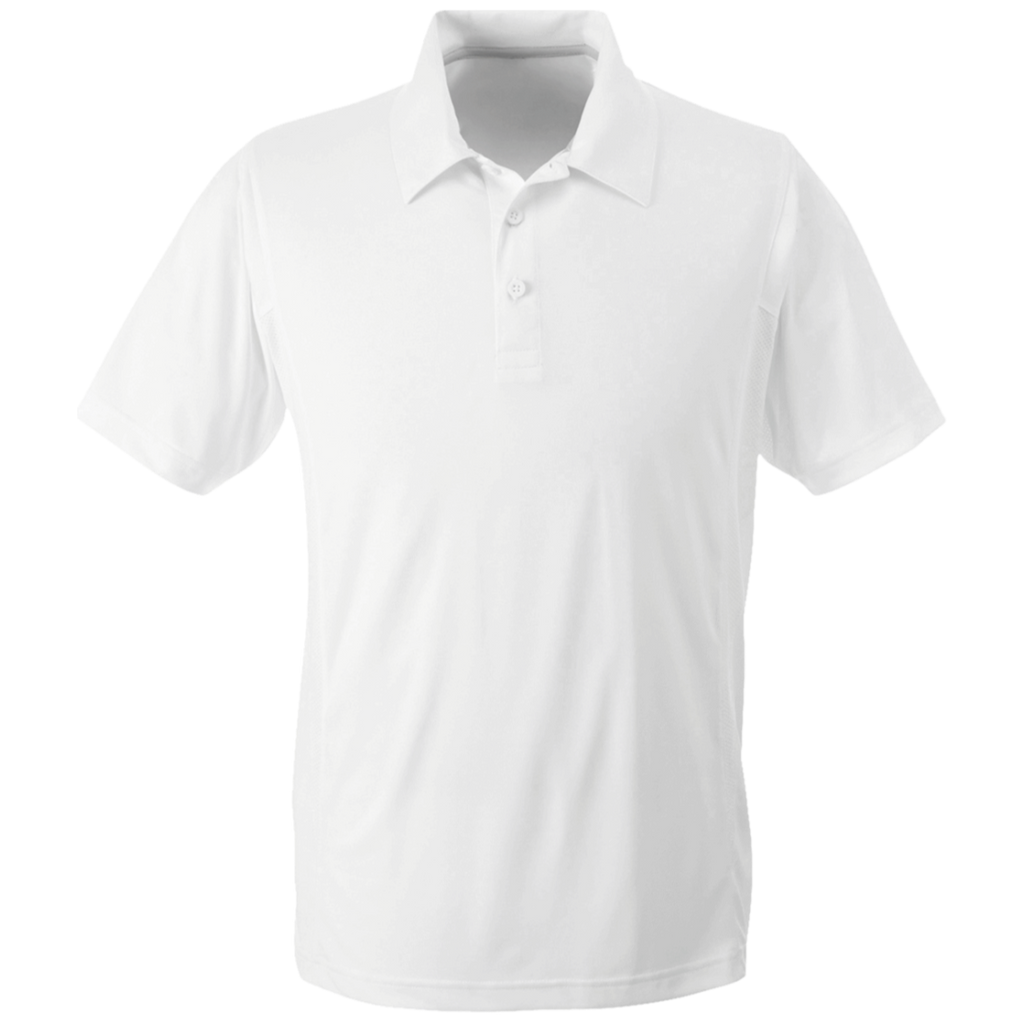 [TeeEver]-Team-365-Men's-Performance-Polo---No-Prints-P-White-XS-