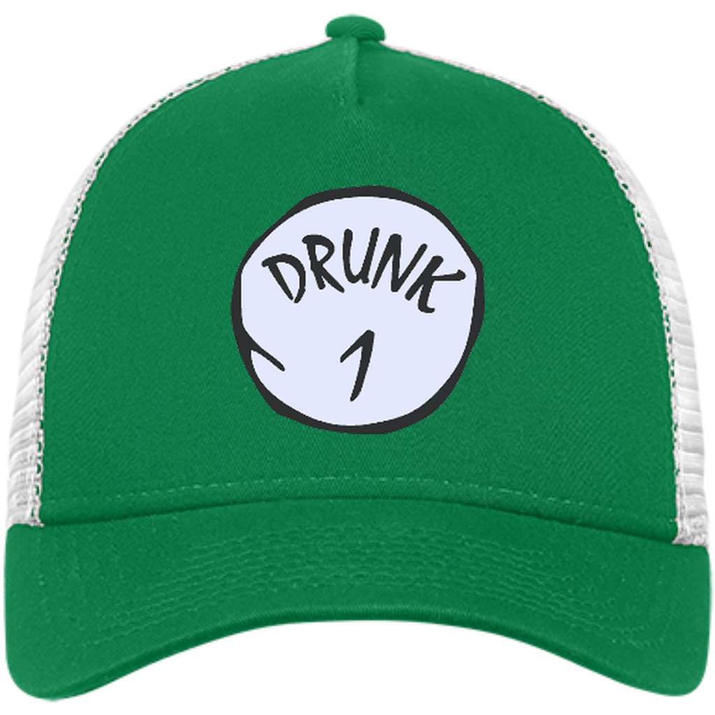 801230f3d11d3 Drunk 1 - Happy St Patrick s day drink beer and drunk - Hat