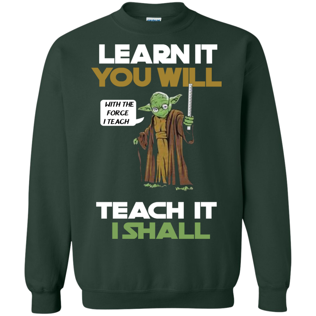 Master-your-classroom-and-teach-with-the-force-LS-shirt,Sweatshirt,Hoodie-LS-Ultra-Cotton-Tshirt-Black-S