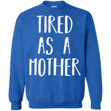 Cute-Tired-as-a-Mother---Perfect-Mom-Gift-Pullover-Sweatshirt---Teeever.com-Black-S-