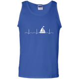 Sailing-Heartbeat-Boat-Shirt-Funny-Boating-Sailor-Gift-Tank-Top-Black-S-