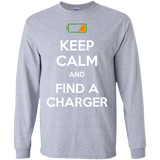 Low-Battery-LS-Ultra-Cotton-Tshirt-Sport-Grey-S-