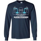 Science---Forget-Lab-Safety-I-Want-Super-Powers-YOUTH-Tshirt/LS/Sweatshirt/Hoodie-PC90Y-Port-and-Co.-Youth-Crewneck-Sweatshirt-Jet-Black-YXS