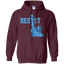 Statue-of-Liberty-Resist-Graphic-#resist-Anti-Trump-Pullover-Hoodie---Teeever.com-Black-S-