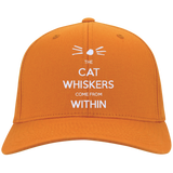 The-Cat-Whiskers-Come-From-Within---Dan-and-Phil-Personalized-Twill-Cap-Charcoal-One-Size-