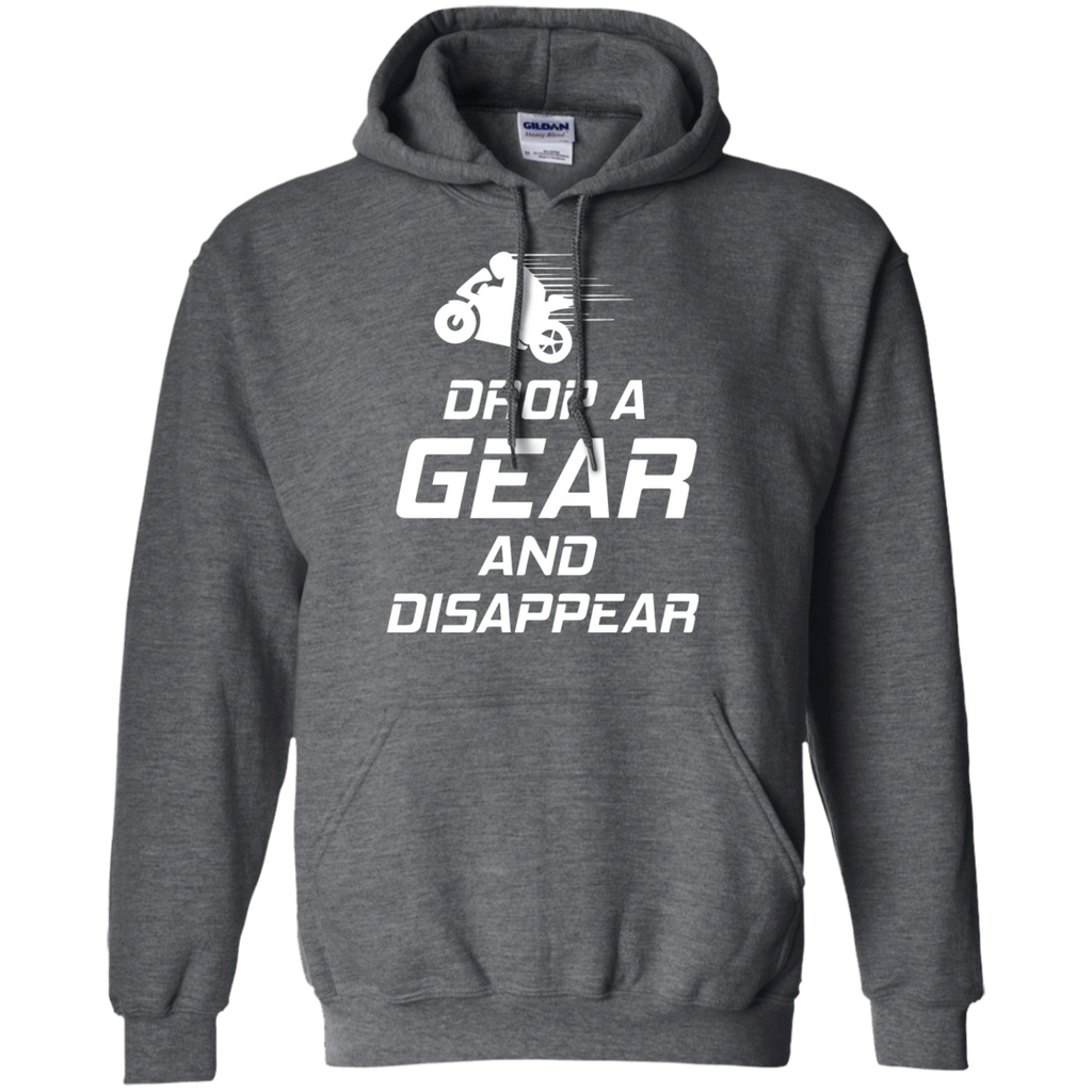 Drop-a-gear-&-Disappear-Motorcylce-Pullover-Hoodie-8-oz-Black-S-