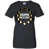 Total-Solar-Eclipse-Summer-August-21st-2017-Ladies'-T-Shirt-Black-XS-