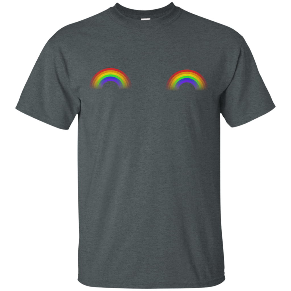 Gay Les Pride Rainbow Boobs LGBT Pride Unisex T-Shirt
