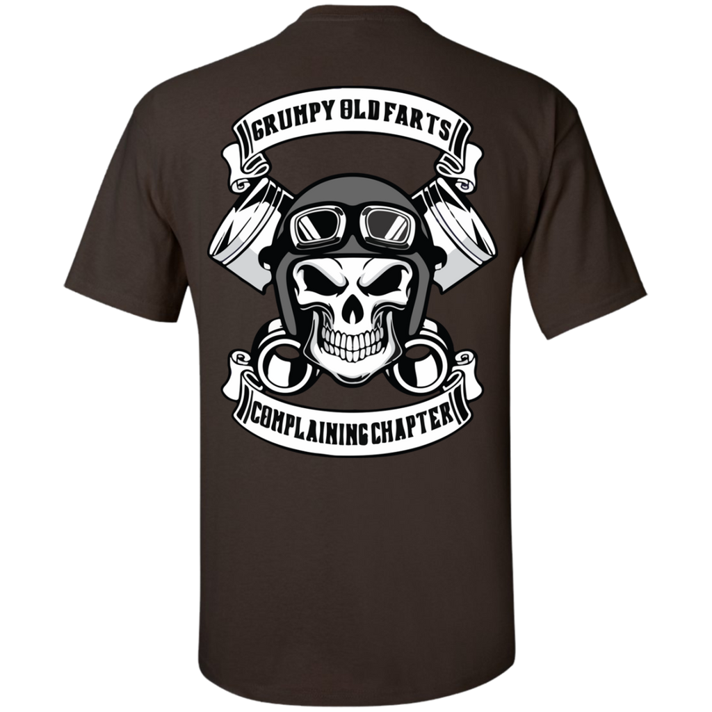 GRUMPY-OLD-FARTS-äóñ-COMPLAINING-CHAPTER-T-Shirt---Back-Side-Sport-Grey-S-