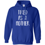 Cute-Tired-as-a-Mother---Perfect-Mom-Gift-Pullover-Hoodie---Teeever.com-Black-S-