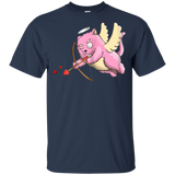 Cupid-Cat-Funny-Valentines-Day-Tshirt-Cute-Cat-Lover-Gifts-Kid's-T-Shirt-Sport-Grey-YXS-