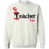 America-Teacher-I-Am-Cat-In-The-Hat---Long-Sleeve-LS,-Sweatshirt,-Hoodie-LS-Ultra-Cotton-Tshirt-Sport-Grey-S