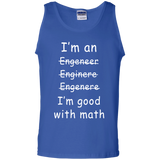 I'm-Engineer,-I-am-good-with-math-Tank-Top-Shirt-Sport-Grey-S-