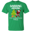 Cute Dabbing Around The Christmas Tree Santa Swag Youth Tee
