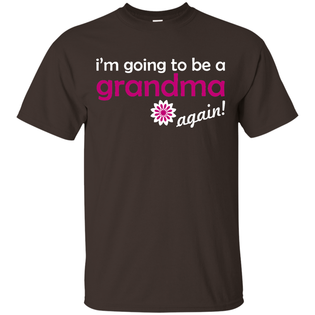 Pregnancy-Announcement---Grandma-Again-T-Shirt---Teeever.com-Black-S-