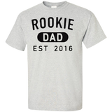 Rookie-Dad-est-2016-Custom-Ultra-Cotton-T-Shirt-Sport-Grey-S-