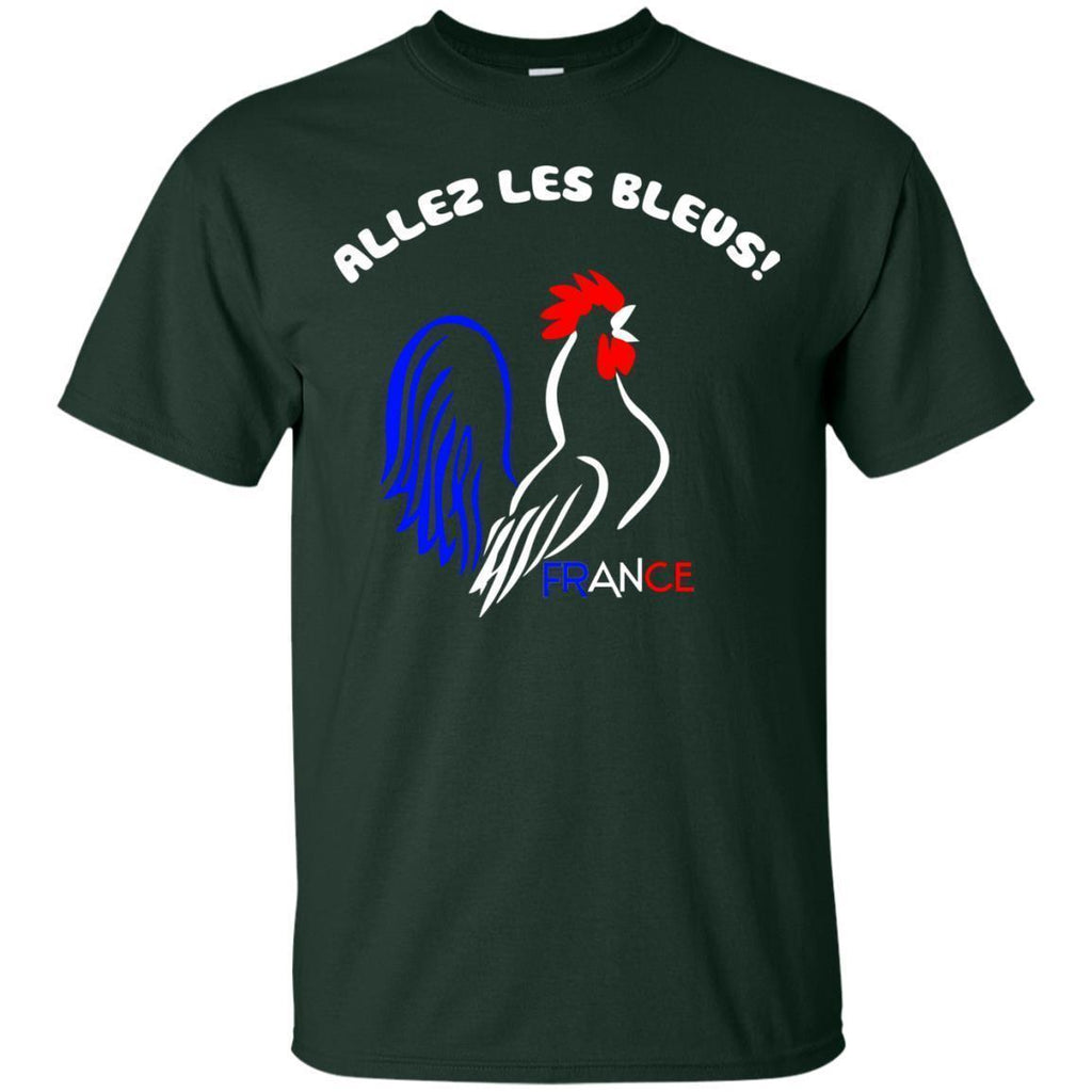 07-09-France-Soccer-Football-World-Jersey-Allez-Les-Bleus-Shirt-Unisex-T-Shirt-Black-S-