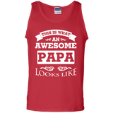 This-Is-What-An-Awesome-Papa-Looks-Like-100%-Cotton-Tank-Top-Black-S-