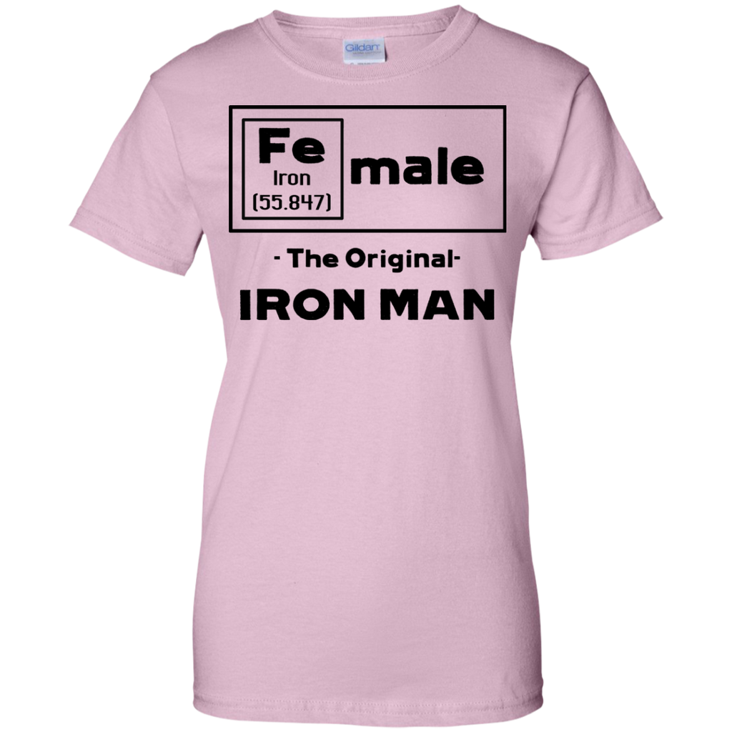 Female---The-Original-Ironman-Ladies-Custom-100%-Cotton-T-Shirt-Sport-Grey-XS-