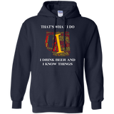 I-drink-beer-and-i-know-things-Pullover-Hoodie---Teeever.com-Black-S-