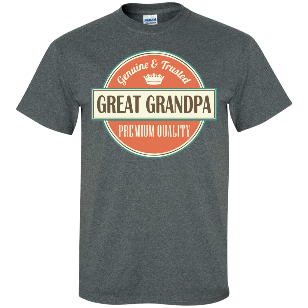 Great-Grandpa-Custom-Ultra-Cotton-T-Shirt-Sport-Grey-S-