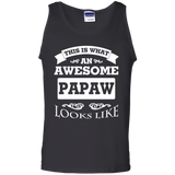 This-Is-What-An-Awesome-Papaw-Looks-Like-100%-Cotton-Tank-Top-Black-S-