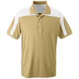[TeeEver]-Team-365-Colorblock-Polo---No-Prints-P-Athletic-Gold-XS-
