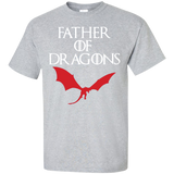 Father-of-Dragons-Shirt-Custom-Ultra-Cotton-T-Shirt-Sport-Grey-S-