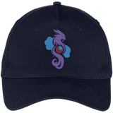 Pokemonster-Espeon-Five-Panel-Twill-Cap-Red-One-Size-
