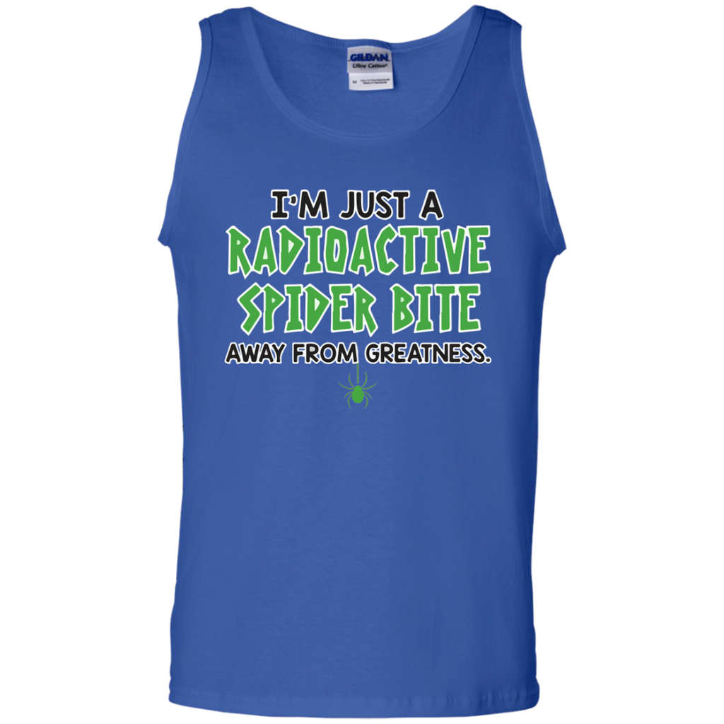 I'm-just-a-radioactive-spider-bite-Tank-Top-Shirt-Sport-Grey-S-