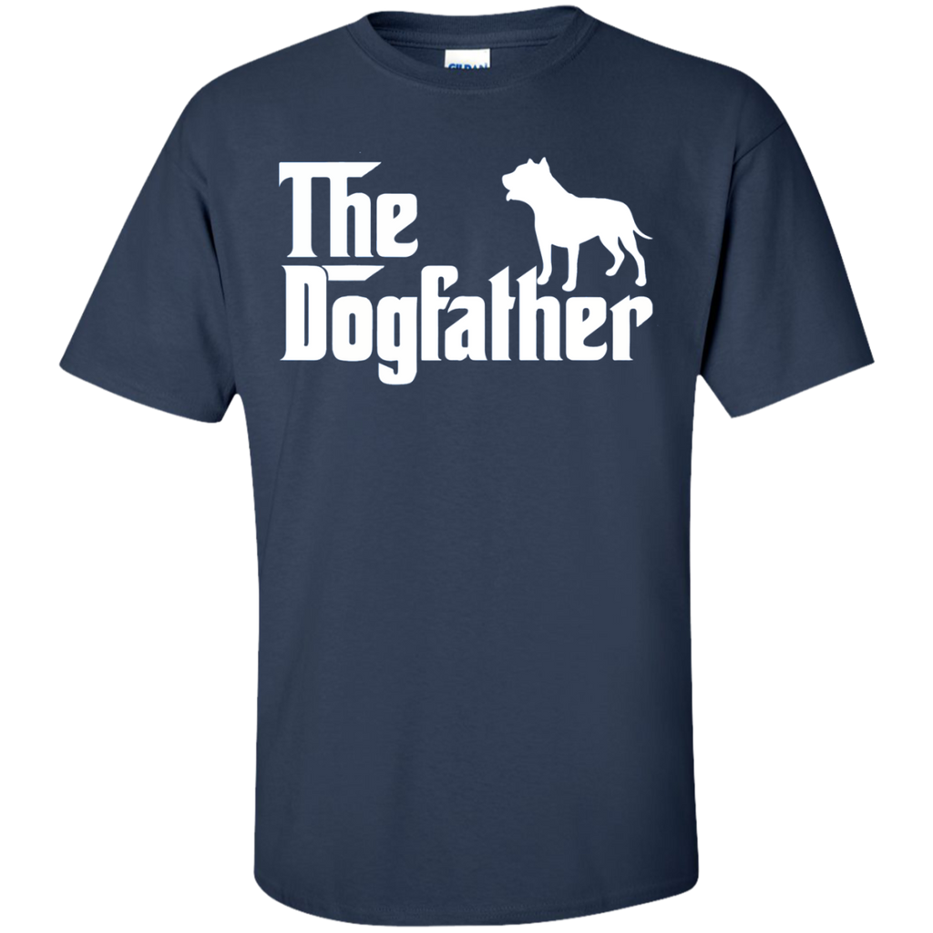 The-Dogfather-Funny-T-Shirt-Custom-Ultra-Cotton-T-Shirt-Black-S-