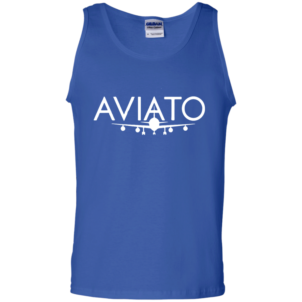 Silicon-Valley-Aviato-Logo-Mens-Graphic.png-100%-Cotton-Tank-Top-Ash-S-