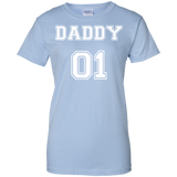 Daddy01-Ladies-Custom-100%-Cotton-T-Shirt-Sport-Grey-XS-