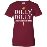 Dilly-Dilly-A-True-Friend-Of-The-Crown-Beer-Lovers-Men/Women-T-shirt-Unisex-T-Shirt-Black-Small