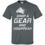 DROP-A-GEAR-&-DISAPPEAR-Custom-Ultra-Cotton-T-Shirt-Black-S-