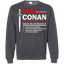 Donald-for-president,-trump-sticker-election-Pullover-Sweatshirt-8-oz-Black-S-
