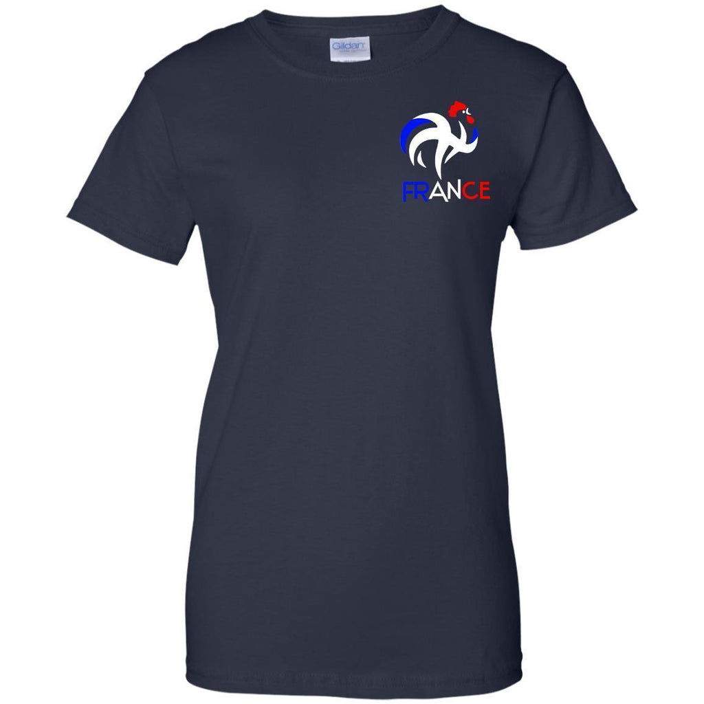 07-09-France-Soccer-Football-World-Ladies'-T-Shirt-Black-X-Small-