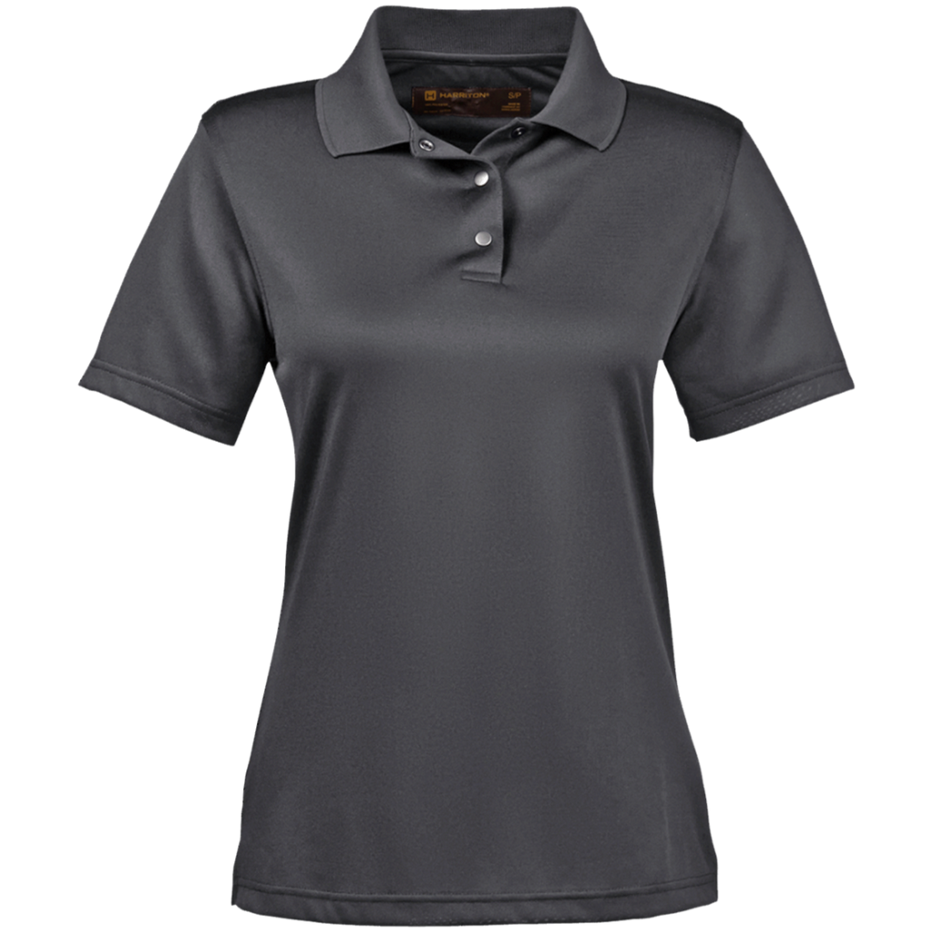 [TeeEver]-Ladies'-Snap-Placket-Performance-Polo---No-Prints-P-White-S-
