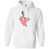 All-You-Need-Is-Love,-Valentine,-Valentine's-Day-Baseball-Pullover-Hoodie-8-oz-White-S-