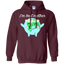 I'm-best-mother,-earth-day-artistic-mother-earth-Pullover-Hoodie---Teeever.com-Black-S-