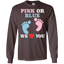 Pink-Or-Blue-We-Love-You-Heart-Baby-Shower-Gender-Reveal-LS-Tshirt---Teeever.com-Black-S-