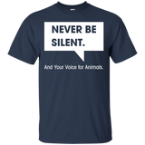 NEVER-BE-SILENT.And-Your-Voice-for-Animals.-Black-S-