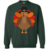 Thanksgiving-day,-turkey,-funny,-fun,-cute-Pullover-Sweatshirt-8-oz-Sport-Grey-S-
