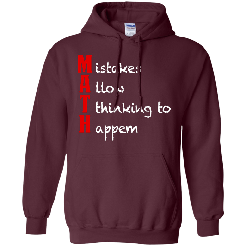 MAth-Funny-Math-Gifts-Mistakes-Allow-Thinking-Pullover-Hoodie-Black-S-