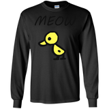 Duck-Meow-LS-Ultra-Cotton-Tshirt-Sport-Grey-S-