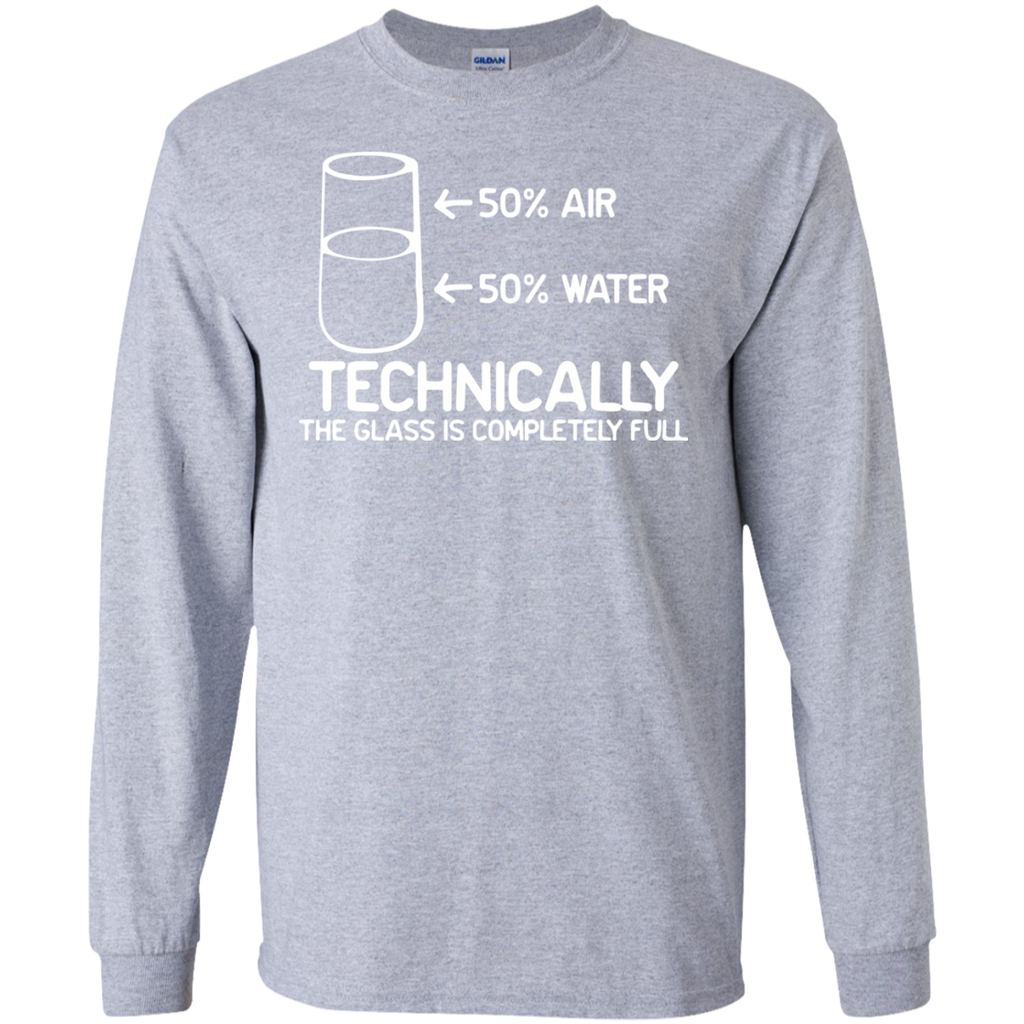 Technically-the-class-is-full-LS-Ultra-Cotton-Tshirt-Sport-Grey-S-