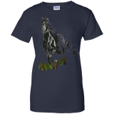 Charlie-Horse-Ladies-T-Shirt---Teeever.com-Navy-XS-