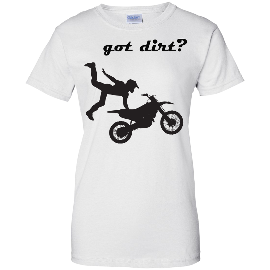 Got-dirt-Ladies-Custom-100%-Cotton-T-Shirt-Sport-Grey-XS-