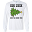 Bend-Over-And-I'll-Show-You---Christmas-Tree-LS-Tshirt-White-S-